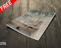Magazine Cover Mockup (FREE)