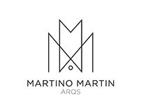 Diseño de identidad para Martino Martin Arqs