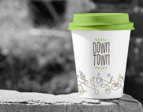 DownTown Deli & Cafe // Branding