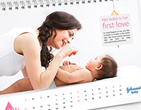 Johnsons and Johnsons baby care Calender'15
