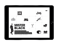Mister Black Hotsite