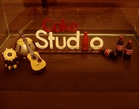 Coke Studio - Miniature Sculpture