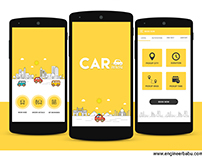 Car Rental Mobile App Design and Development