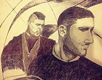 Majid Jordan illustration
