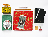 Moleskine Christmas Tags
