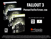 Fallout 3 for Playstation, Xbox and PC. TV Commercial.