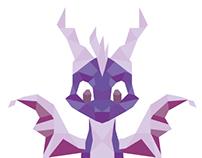 Low Poly Spyro