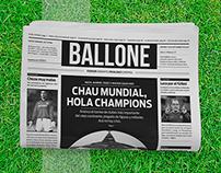 BALLONE - Periódico de Fútbol