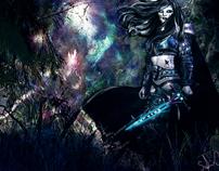 elfe guerrière