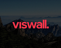 Viswall Landing page re-design