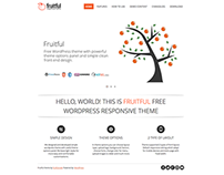 Fruitful - Free WordPress theme design & development