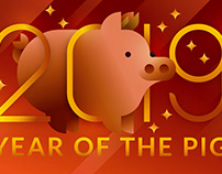 2019, Year of the Pig