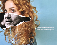 Behind every great woman / Posters