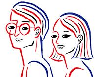 PEOPLE ___ Original Illustration