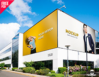 Outdoor Advertising Mockup