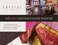 Crystal Bar & Restaurant - advertise in MASOO! Magazine