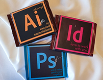 Adobe Suite Chocolate Bars