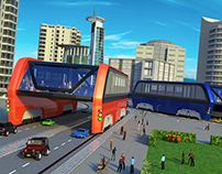 Elevated Bus Simulator