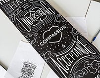Erase Hate / Skate Deck