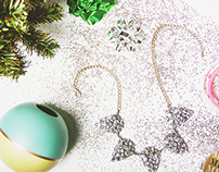 Christmas Themed Photo Styling for Web