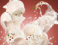 Estilo 3D _ Q-Yoghurt