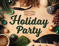 Entercom Holiday Party Invitation