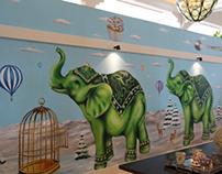 Casa del Mar Hotel Mural