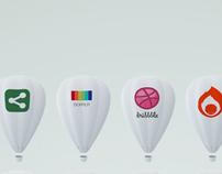 Balloon icons