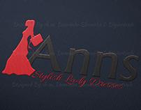 Lady Dresses Shop Brand Identity Designs