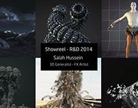Showreel - R&D 2014