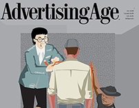 Advertising Age Cover Design