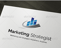 Marketing Strategist Logo Template