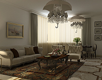"""Private Apartment, Housing Estate """"Admiral"""", Moscow"""