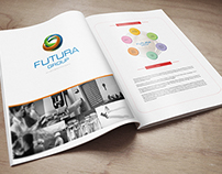 Futura Group Magazine Design