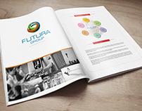 Futura Group Magazine Design