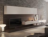 poliform living room and bedroom