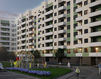 Residential complex in Lviv