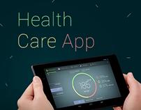Healthcare Application UI