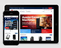 Austin Computers Ecommerce Website