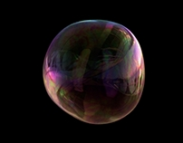 Soap bubble dynamics and shading test