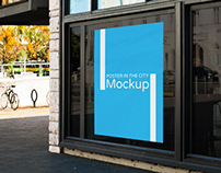 Poster in the City Mockups
