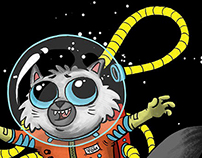 Major Tom, Space Kitty