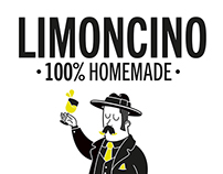 Limoncino label