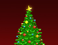 Pixel Xmas Greetings