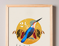 Wall Art 24/5 Bird