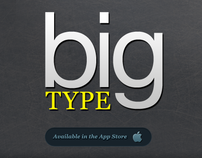 Big Type - For iPhone, iPod and iPad