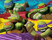 Teenage Mutant Ninja Turtles Style Guide 2015