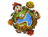 URIVERSE_Planet Icon
