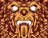 Illustration, Bear