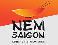 Nem Saigon - Branding